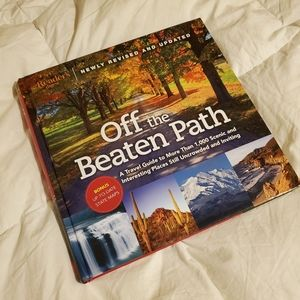 Off the Beaten Path Travel Book Coffee Table